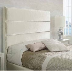 Even if no one ever sees it, your bedroom should still represent your style and feel like a place you […] Bed Headboard Design, Headboards For Beds, Bedroom Bed, Bedroom Decor, Head Boards, Beautiful Bedrooms, Mattress, Bed Pillows, Pillow Cases