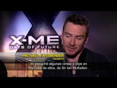 ▶ Entrevista Michael Fassbender y James McAvoy - X-Men Días del Futuro Pasado - YouTube
