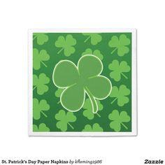 St. Patrick's Day Paper Napkins
