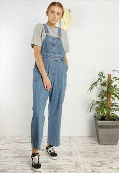 Dungarees, Overalls, Clothing, Pants, Fashion, Trousers, Outfits, Trouser Pants, Moda