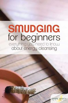 Everything you need to know about how to smudge for beginners Learn what you need for smudging the best smudge sticks to use smudging benefits smudging prayers and more t. Smudging Prayer, Sage Smudging, Healing Herbs, Natural Healing, Healing Spells, Crystal Healing, Spiritual Cleansing, Energy Cleansing, Sage Cleansing Prayer