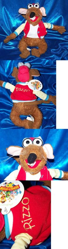 Muppets Sesame Street 2627: Rizzo Rat 10 Bean Bag Plush Beanie Doll Disney Muppet Show Toy Rare - New W Tag -> BUY IT NOW ONLY: $49.95 on eBay!