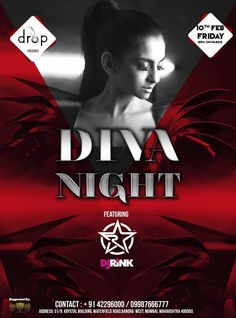 """DROP IN MUMBAI ! Yeah yeah this weekend lets party in style Mumbai ! The DIVA night Featuring india's #1 """"DJ RINK"""" at DROP (Bandra) 💧on 10th Feb this Friday ! It's gonna be Bollywood n commercial music to groove u all ❤💃see you all there 🙋"""