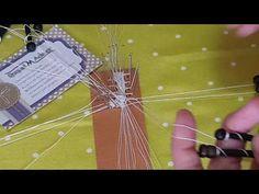 Remate final Abanico n°37 Maxbolillos 2a parte. Raquel M. Adsuar Bolillotuber - YouTube