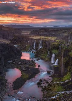 Apparently this is Iceland - how gorgeous is that?
