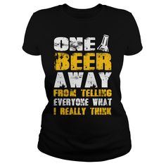 Check out all beer shirts by clicking the image, have fun :) Cool Tees, Cool T Shirts, All Beer, Beer Shirts, Craft Beer, Sweatshirts, Check, Image, Fun