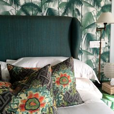 Jim Thompson Fabrics and Cole & Son Wallpaper.