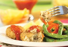 #Croquettes de #tilapia et de #crabe