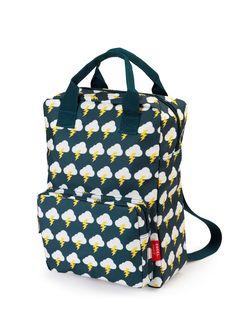 ENGEL - Ryggsäck tillverkad av återvunna PET-flaskor Thunder by ruuthiesshop Little Backpacks, Boys Backpacks, Recycled Bottles, Recycle Plastic Bottles, Diaper Bag Backpack, Drawstring Backpack, Fluffy Pillows, Peta, Sport