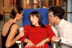 María Barranco, Rossy de Palma and Antonio Banderas in Women on the Verge of a Nervous Breakdown (1988).