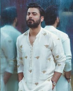 Fawad Khan birthday special: 15 pictures of the actor that prove he is as sexy as they come Mens Indian Wear, Mens Ethnic Wear, Indian Groom Wear, Indian Men Fashion, Mens Fashion Wear, India Fashion Men, Indian Man, Wedding Kurta For Men, Wedding Dresses Men Indian