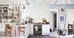 Ljusblå väggar och smarta lösningar | ELLE Decoration