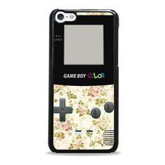 game boy vintage flower iPhone 5c case