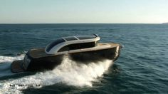 Oronero is the world's first limousine yacht.