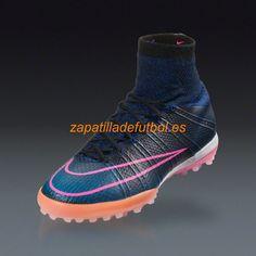timeless design 022fd 46667 Salida Zapatos de futbol Para Moqueta Nike Mercurial X Proximo Turf Negro  Rosado Azul Negro Rafaga Racer