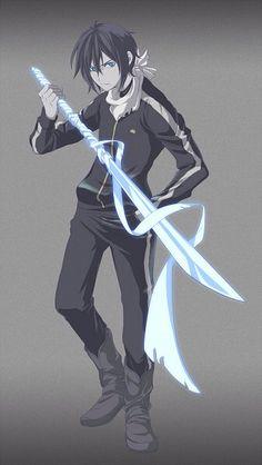 Browse noragami Yato Yukine collected by Abdelmouhaimen El Mo and make your own Anime album. Noragami Anime, Yatogami Noragami, Manga Anime, Yato And Hiyori, Hot Anime Guys, I Love Anime, Awesome Anime, Yatori, Another Anime