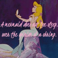 A Mermaid does not lose sleep over the opinion of the shrimps...perfect, woot woot!! ☀️✨