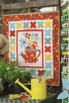 Every Bloomin' Thing Quilt Pattern Pieced/Applique JF