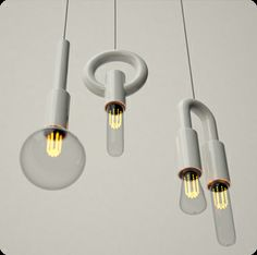"Particularly love the ""i"" from the ion lighting. Beautiful porcelain lighting from Porcelain Bear in Collingwood!"