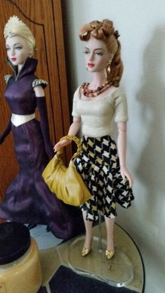 THE STUDIO COMMISSARY: Just because I love Ivy pics :) ..... (8 PICS)  -  Posted by Beverly Jesser [Email User] on February 14, 2016, 12:06 pm.  Star Entrance Gene redressed and Ivy, wearing a wig by Ilaria and outfit by Ann Collection.