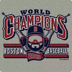 2013 World Series Champs Boston Red Sox - Chowdaheadz