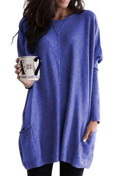 Long Sleeve Maxi, Maxi Dress With Sleeves, Long Sleeve Tops, Tunic Shirt, Tunic Tops, Blouse, Dress Tops, Maternity Fashion, Maternity Dress