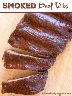 How to Smoke a Whole Chicken - in the Bradley Electric Smoker Beef Rib Rub, Bbq Beef Ribs, Smoker Recipes, Rib Recipes, Brunch Recipes, Smoked Beef Ribs Recipe, Smoked Ribs, Fun Food, Good Food