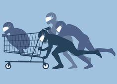 shopping cart running
