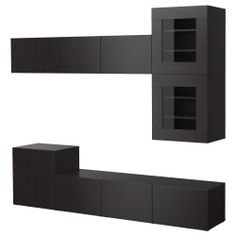 1000 images about meuble tv hifi on pinterest tvs salons and ikea. Black Bedroom Furniture Sets. Home Design Ideas