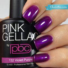 #132 Pink Gellac Violet Purple