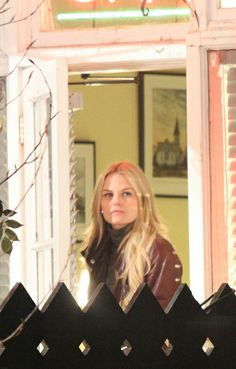 Jennifer Morrison on the set of 'Once Upon A Time' - March 28, 2014