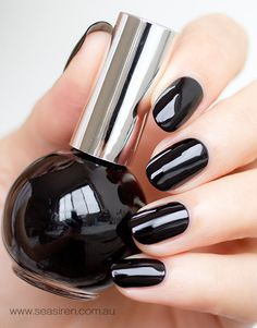 MIDNIGHT MOVES is a glossy Black crème nail polish. Cruelty Free & Vegan Friendly. CCF Accredited. 5 Free. UV & Chip Resistant. Premium, salon quality formula. Made in Australia.