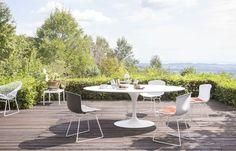 Une salle à manger outdoor chic et design