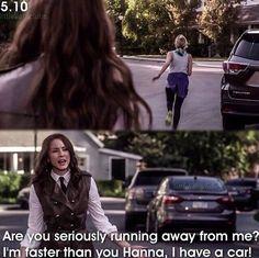Hanna and Spencer OMG