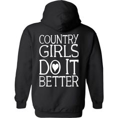 Women's Country Girls Do it Better Relaxed Pullover Hoodie