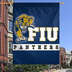 FIU Panthers WinCraft 27'' x 37'' One-Sided Vertical Banner Flag - $24.99