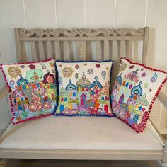 Lucy Levenson: THREE CUSHIONS