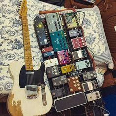 That tele. That board.