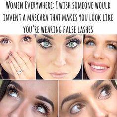 False Lashes, Younique, Inventions, Mascara, Marketing, Women, Fake Lashes, Mascaras, False Eyelashes