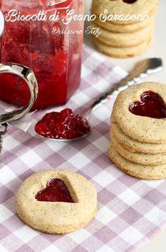 Biscotti di Grano Saraceno e Confettura