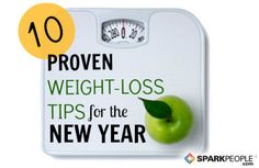 10 effective tips to help you lose weight this New Year.