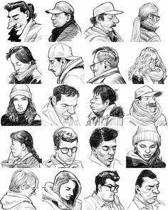 BART and Muni Get Sketchy: SF Artist Draws Mini-Portraits of Commuters -UpOut Blog