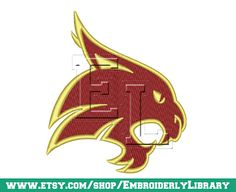 Football Machine Embroidery Designs texas by EmbroiderlyLibrary