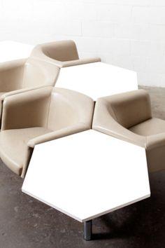 Geoffrey Harcourt Hexagon Seating System by Artifort