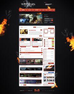 MD GamingTemplate v.13 - Templates - ClanDesigns