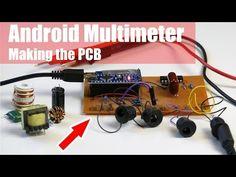 Arduino Digital Multimeter/Oscilloscope | N.E.C.O Arduino, Digital Ammeter, Start Screen, Diy Tech, Light Meter, Printed Circuit Board, Electronics Projects