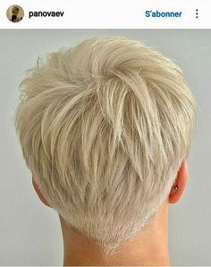 35 Best Short Pixie Haircuts for 2019 - Page 24 of 35 - Hairstyle Zone X A lot of women are of the belief that short haircuts with bangs look glamorous or beautiful compared to the long haircuts. cutting your long hair, Short Grey Hair, Short Hair Cuts For Women, Long Hair Cuts, Short Hairstyles For Women, Short Hair Styles, Blonde Short Hair Pixie, Platinum Blonde Pixie, Funky Short Hair, Super Short Pixie