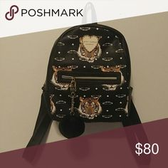 (96A) NEW 🐅 Beautiful Tiger Backpack 🐅 This is a new, beautiful tiger design backpack. Betsey Johnson Bags Backpacks