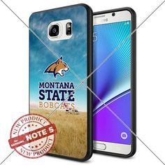 NEW Montana State Bobcats Logo NCAA #1336 Samsung Note5 Black Case Smartphone Case Cover Collector TPU Rubber original by WADE CASE [Breaking Bad] WADE CASE http://www.amazon.com/dp/B017KVLGI6/ref=cm_sw_r_pi_dp_FBLAwb1EDDPW7