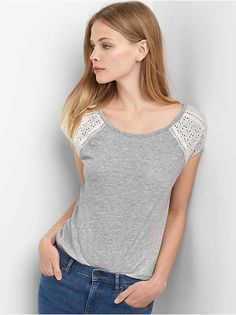 Women's Ts & Camis: long-sleeve T's, short-sleeve t-shirts, tanks, camisoles | Gap